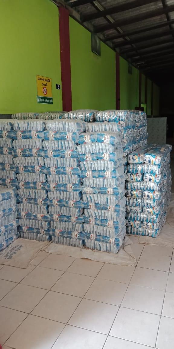 Safe Storage of Salt
